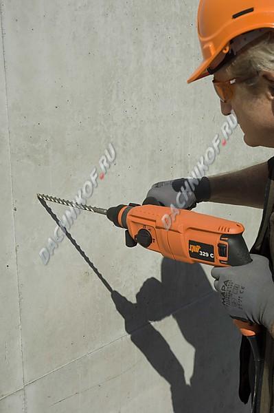 Почему бетонная стена не сверлится 33
