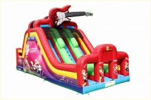 Игровой центр Happy Hop Rock n Roll Double Lane Slide Bouncer (1002A)