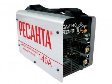 Сварочный инвертор Ресанта САИ 140 применяется в ручной дуговой сварке...