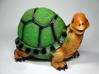 Черепаха из гипса своими руками для сада